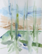 Frühling (Suckow), 2017, 24 x 18 cm, Aquarell