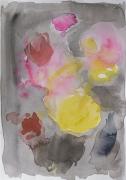 Nachtblühendes, 2019, 24 x 17 cm, Aquarell