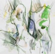 Weiden, 2016, Aquarell, 30 x 30 cm